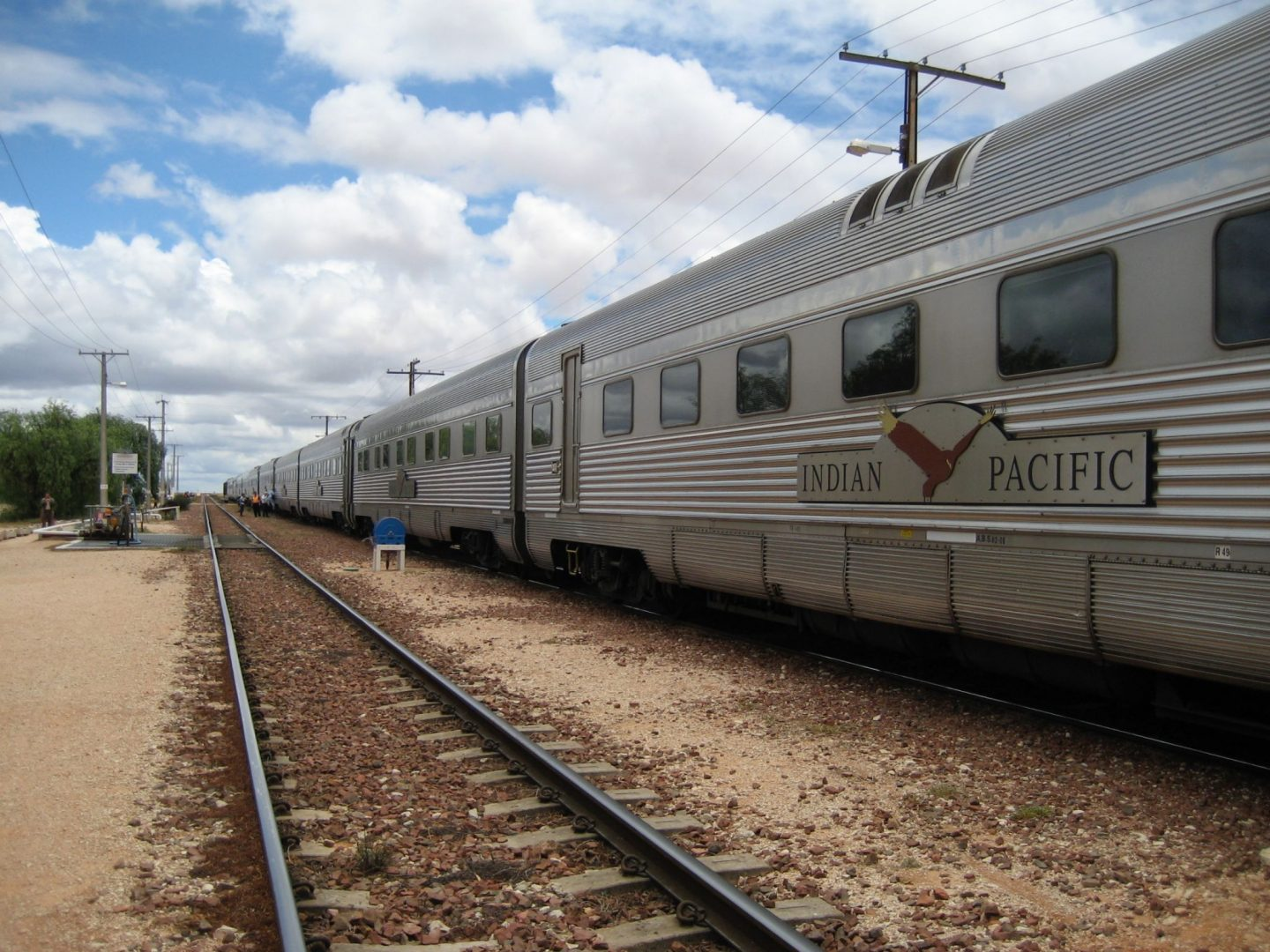 The Indian Pacific Train Sydney to Perth