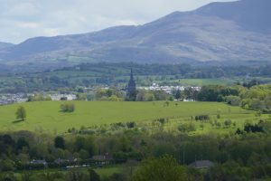 View back over Killarney from the Aghadoe Viewpoint