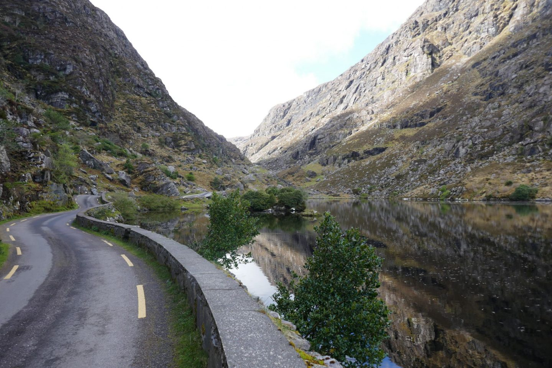 The narrow road at The Gap of Dunloe
