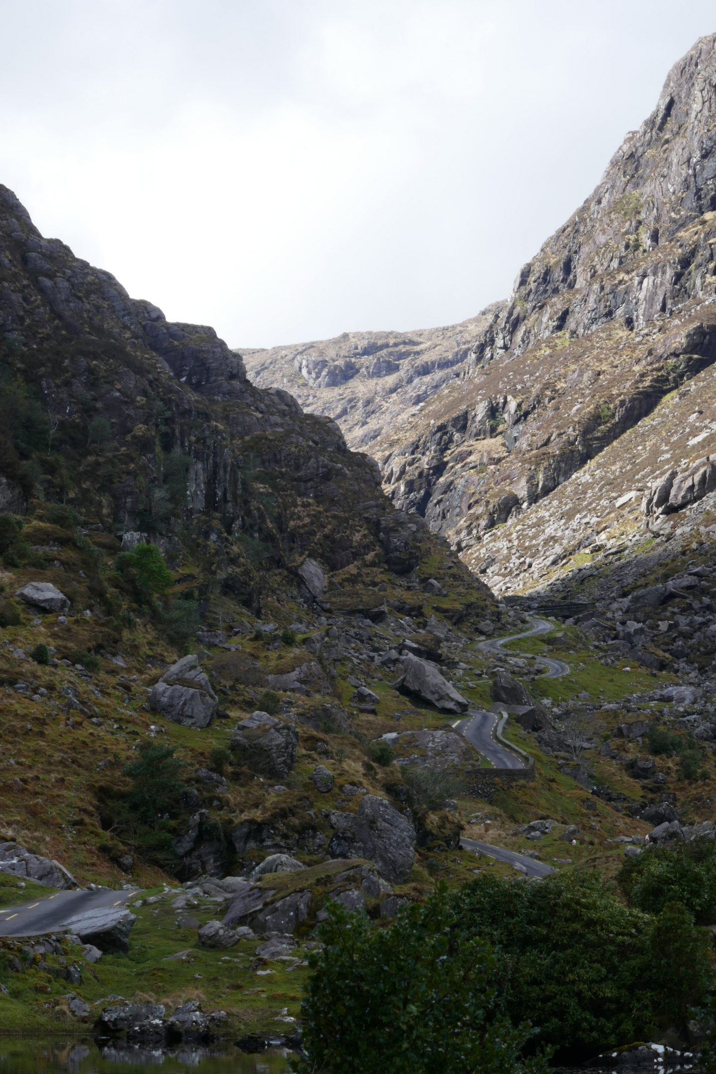The twists and turns of The Gap of Dunloe Road