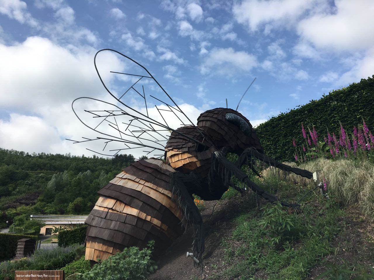 Giant Bee Sculpture