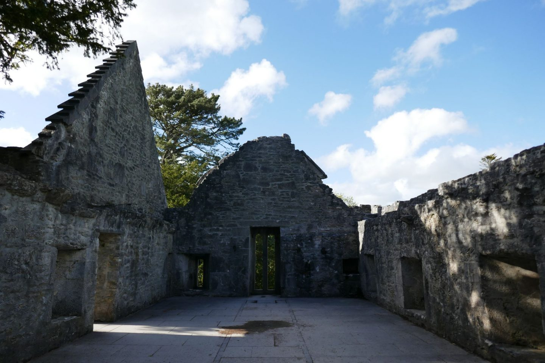 Top floor of Muckross Abbey