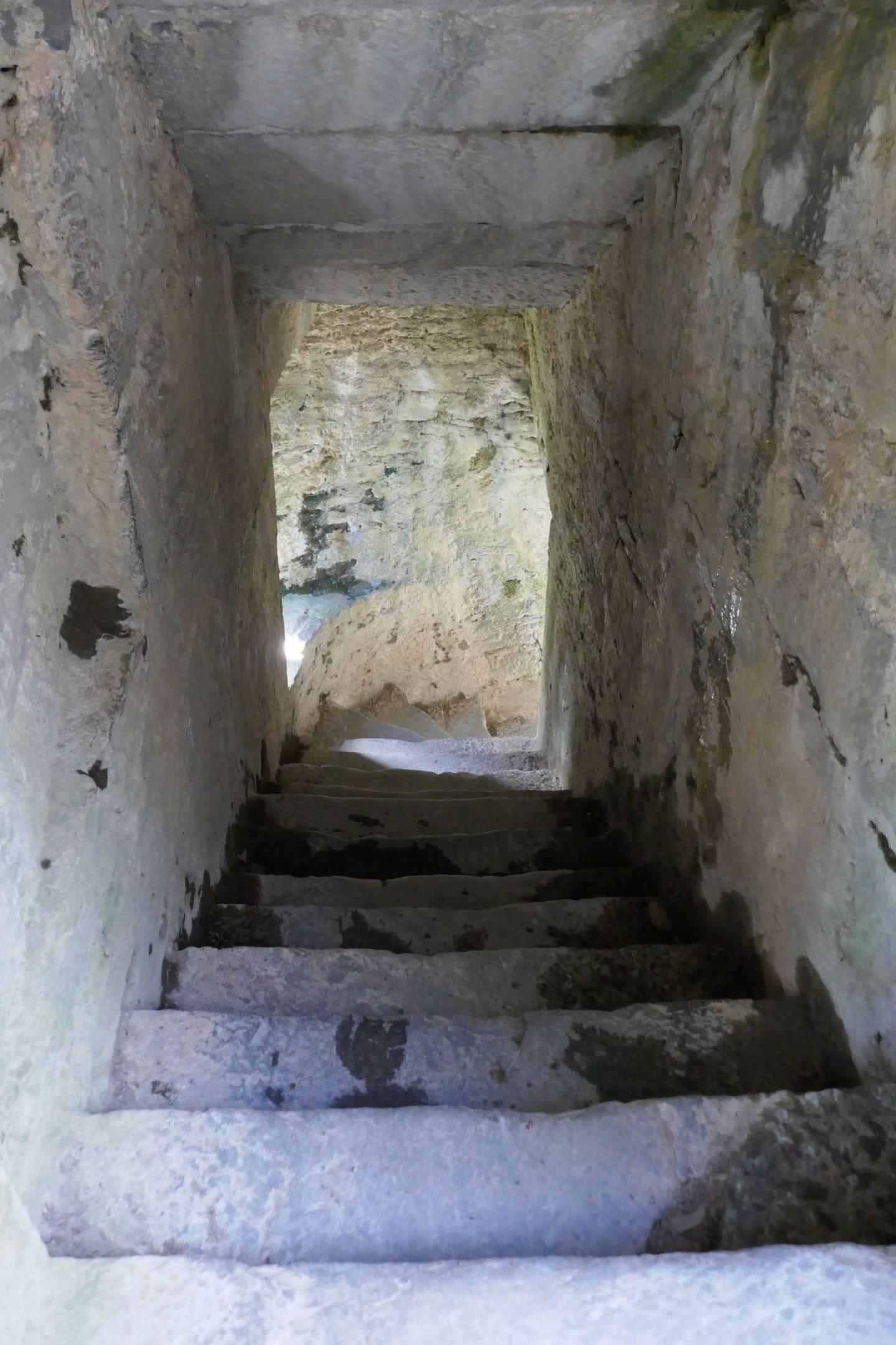 Stairs inside Muckross Abbey