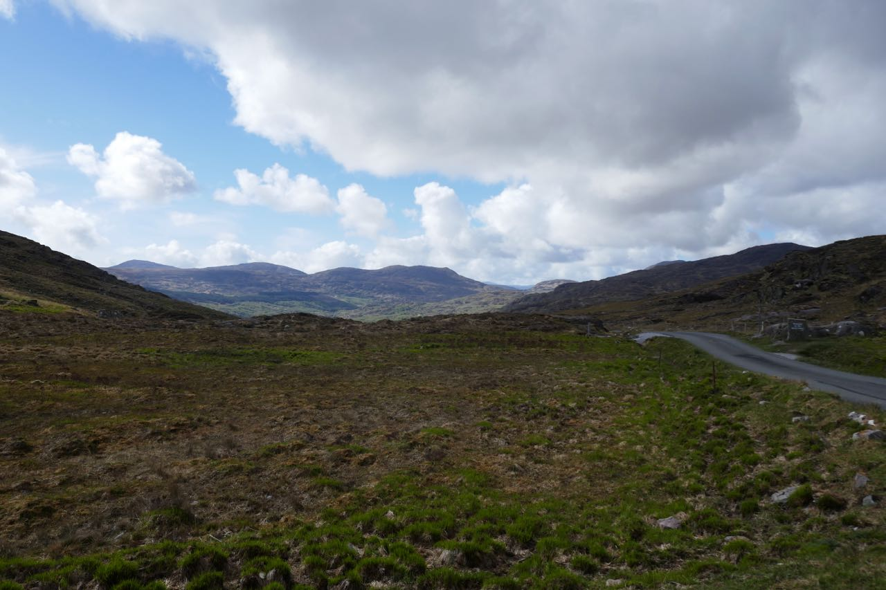 The view once through The Gap of Dunloe
