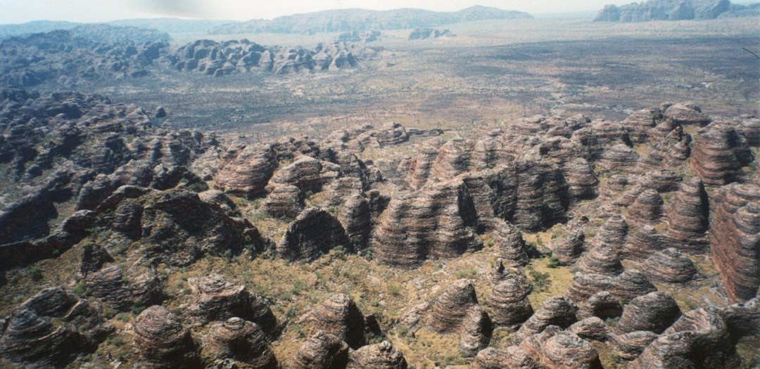 Beehive domes of the Bungle Bungles