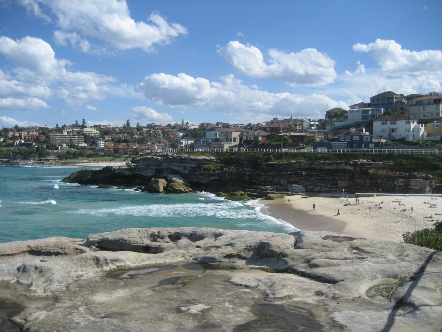 View over Tamarama Beach from the headland
