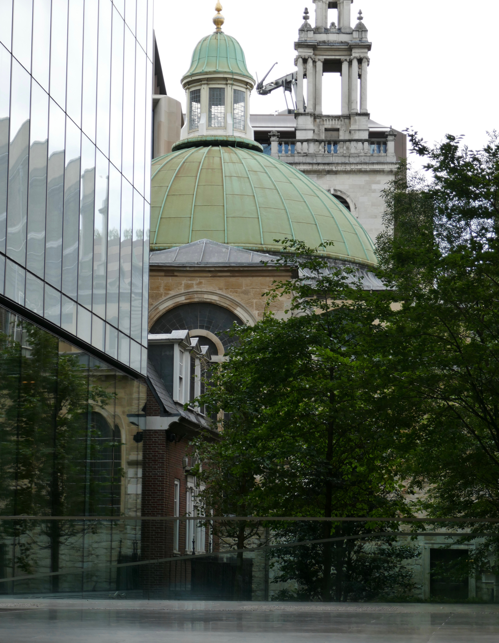 Dome of St Stephen Walbrook Church