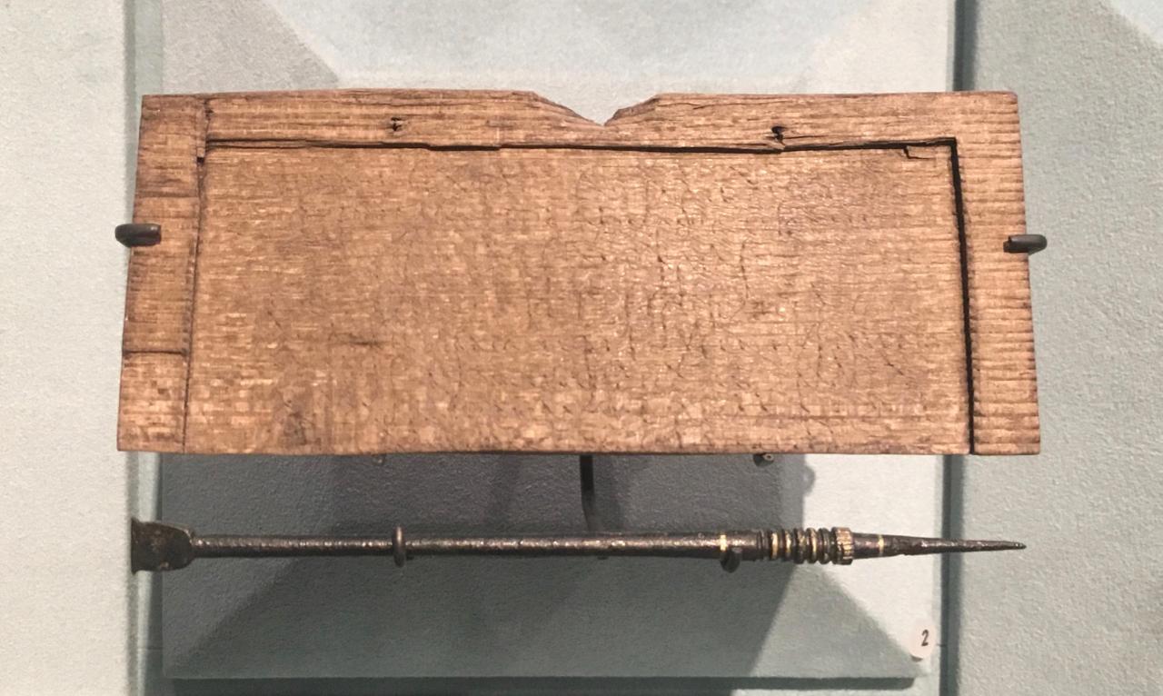A Roman Tablet...