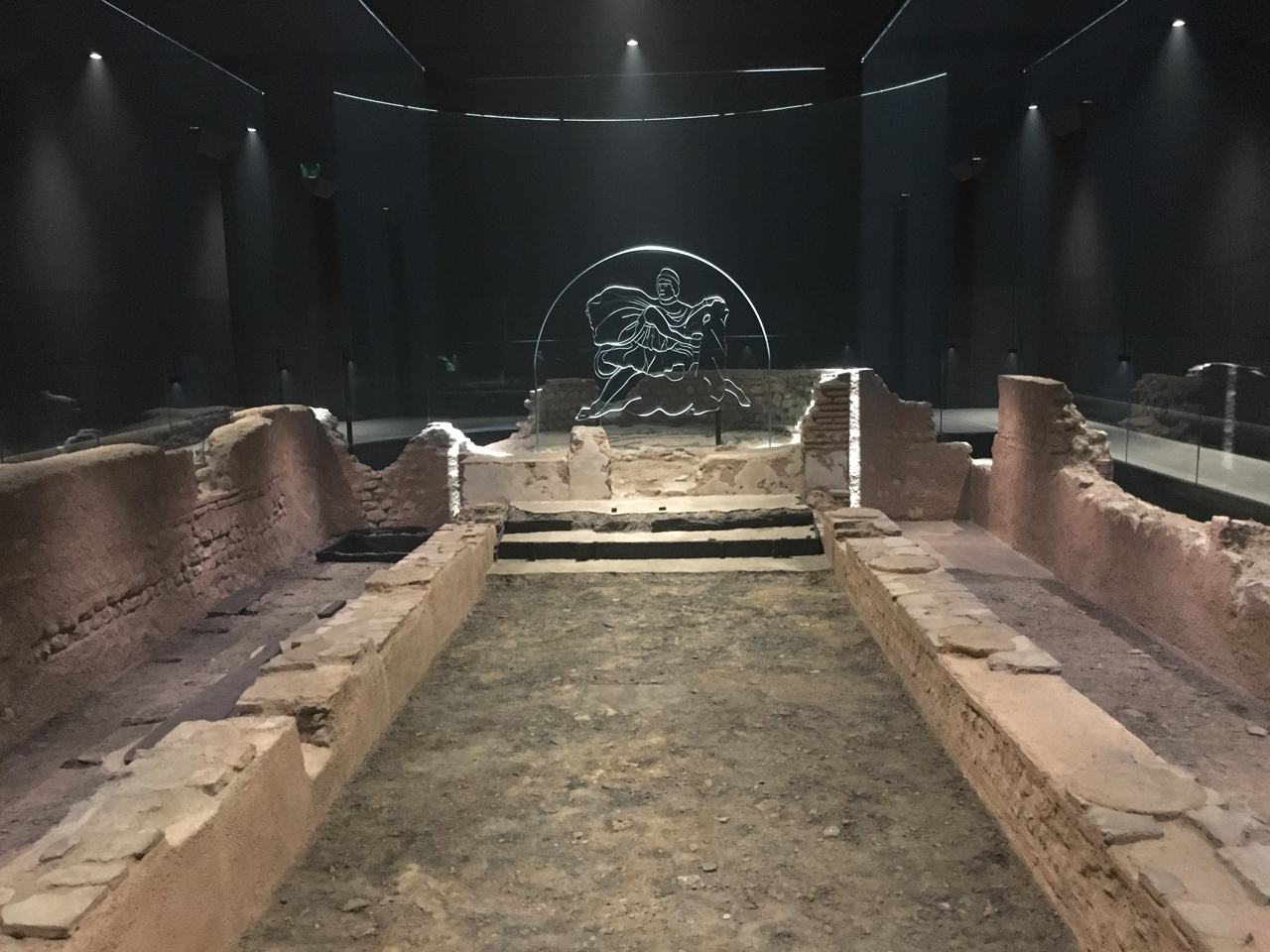 The Temple of Mithras at the London Mithraeum Bloomberg Space