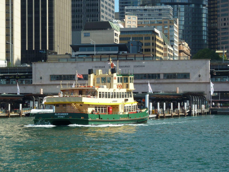 Circular Quay, Sydney's transport hub and home to some Australian landmarks