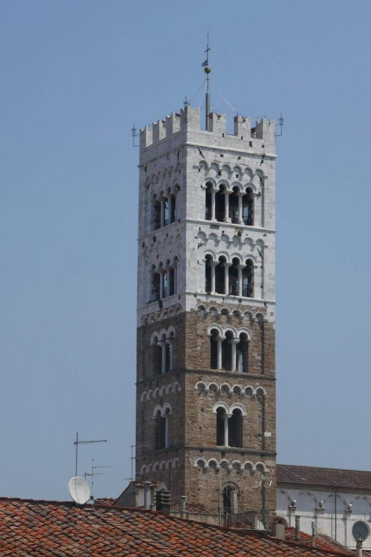 Lucca Cathedral Bell Tower